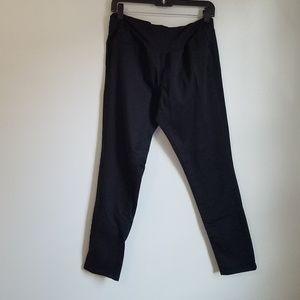 Indigo Blue Maternity Black Skinny Ankle Pants